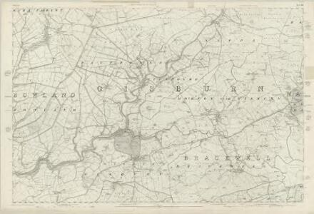 Yorkshire 166 - OS Six-Inch Map