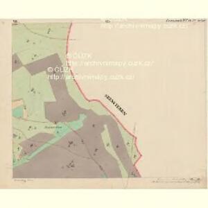 Eisenstrass - c1950-1-007 - Kaiserpflichtexemplar der Landkarten des stabilen Katasters