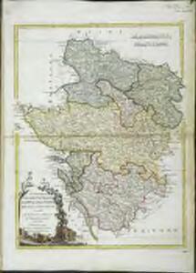 Li governi d'Angió, del Saumurois, della Touraine, e Poitou, d'Aunis, e Saintonge