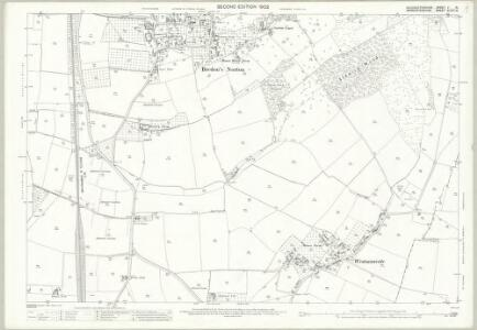 Gloucestershire V.15 (includes: Bredon; Bredons Norton; Kemerton) - 25 Inch Map