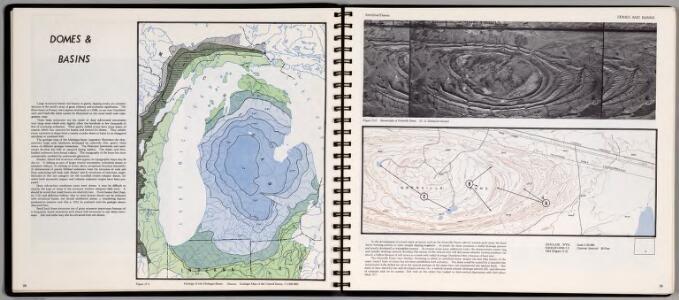 Domes & Basin. Geology of the Michigan Basin. Anticlinal Domes. Sinclair, Wyoming
