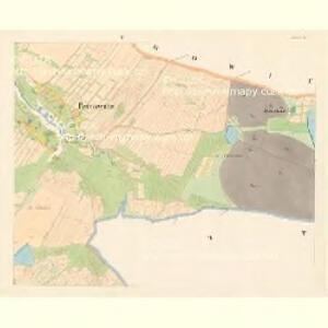 Petrowitz - c5739-1-004 - Kaiserpflichtexemplar der Landkarten des stabilen Katasters