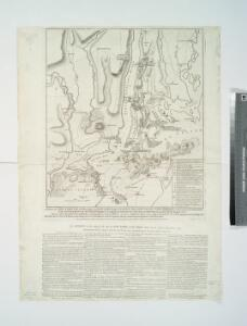 A plan of New York Island, with part of Long Island, Staten Island & east New Jersey : with a particular description of the engagement on the woody heights of Long Island, between Flatbush and Brooklyn, on the 27th of August 1776 between His Majesty's fo