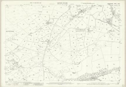 Denbighshire XXXI.8 (includes: Llangwm) - 25 Inch Map