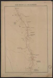 Itinéraire de Kita au Niger et à Kéniéra suivi par la colonne expéditionnaire commandée par le Lt Colonel Borgnis-Desbordes. Mourgoula-Dialikrou