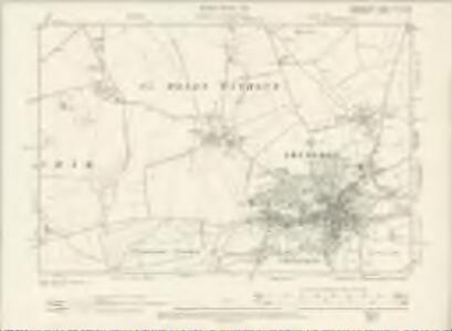 Oxfordshire XLV.NW - OS Six-Inch Map
