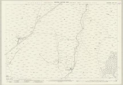 Devon CVII.2 (includes: Lydford) - 25 Inch Map
