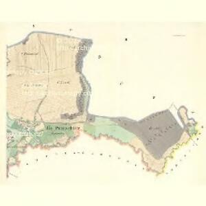 Gr.Pientschitz (Hruby Pjencice) - m2252-1-002 - Kaiserpflichtexemplar der Landkarten des stabilen Katasters