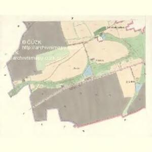Ullitz - c8243-1-004 - Kaiserpflichtexemplar der Landkarten des stabilen Katasters