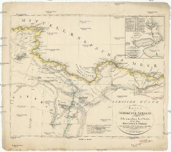 Karte der Nordküste Afrika's