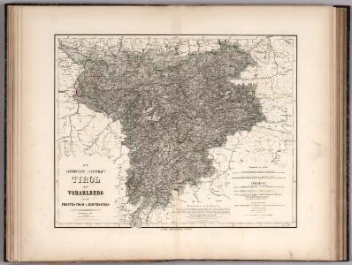 Die gefurstete Grafschaft : Tirol mit Vorarlberg und das Furstenthum Liechtenstein