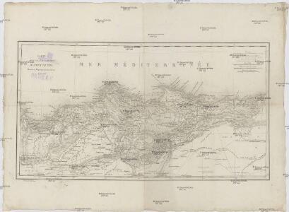 Carte d'une partie de la province de Constantine
