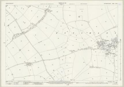 Northamptonshire XXXII.5 (includes: Broughton; Pytchley) - 25 Inch Map