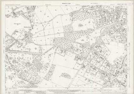 Cheshire XVIII.5 (includes: Altrincham; Bollington; Bowdon; Dunham Massey) - 25 Inch Map