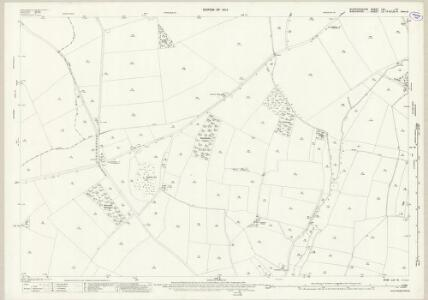Staffordshire LXI.15 (includes: Claverley; Lower Penn; Pattingham; Rudge; Trysull And Seisdon; Wrottesley) - 25 Inch Map