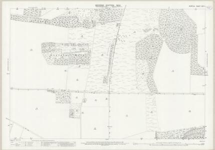 Norfolk XCII.11 (includes: Hockwold Cum Wilton; Weeting With Bromehill) - 25 Inch Map