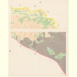 Gillowitz - c2900-1-002 - Kaiserpflichtexemplar der Landkarten des stabilen Katasters