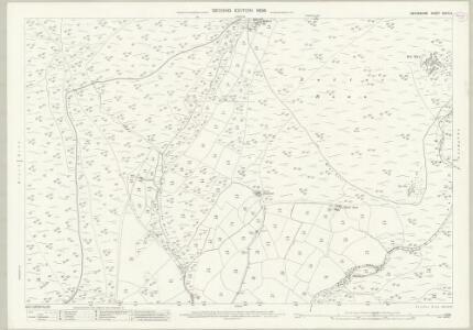 Devon XCVIII.2 (includes: Marytavy; Petertavy) - 25 Inch Map