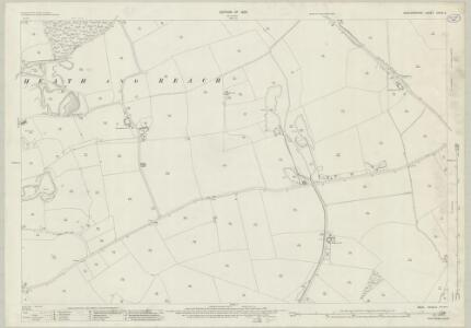 Bedfordshire XXVIII.3 (includes: Heath and Reach; Hockliffe; Potsgrove) - 25 Inch Map