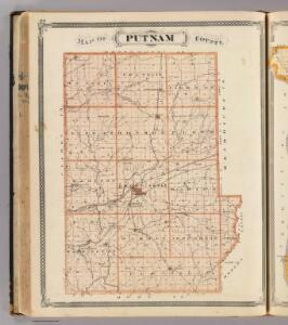 Map of Putnam County.