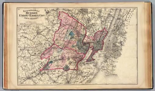 Hudson, Union, Essex Cos., N.J.