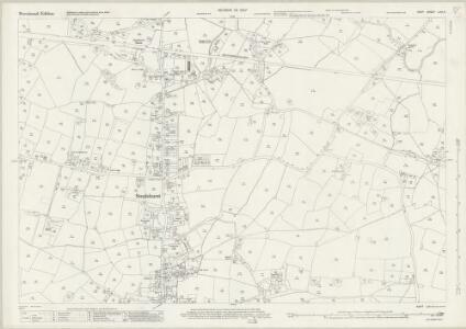 Kent LXII.4 (includes: Staplehurst) - 25 Inch Map