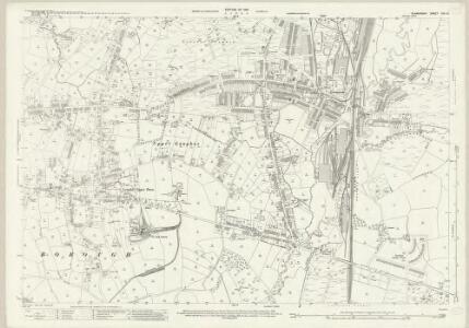 Glamorgan XIV.10 (includes: Gowerton; Llandeilo Tal Y Bont; Llangyfelach; Loughor) - 25 Inch Map