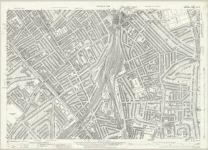 London (1915- Numbered sheets) II.14 (includes: Hornsey St Mary; Islington; Stoke Newington) - 25 Inch Map