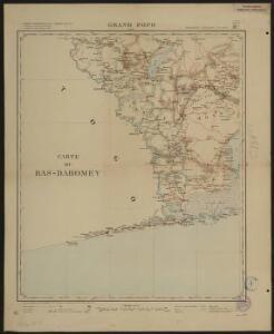 Carte du Bas-Dahomey. Grand-Popo