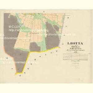 Lhotta - c3931-1-004 - Kaiserpflichtexemplar der Landkarten des stabilen Katasters