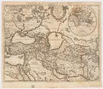 Theatrum historicum ad annum Christi quadrigentesimũ : in quo tũ Imperii Romani tũ Barbarorum circumincolentium status ob oculos ponitur pars orientalis