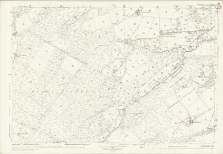 Herefordshire XXXI.15 (includes: Llangernyw; Michaelchurch Escley; Peterchurch) - 25 Inch Map