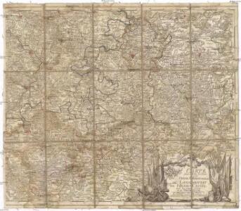 Carte pour servir de suite a la partie meridionale du landgraviat de Hesse-Cassel avec les pays voisins de la Thuringe