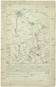 Plan der Schlacht der Kulm den 30ten Aug. 1813