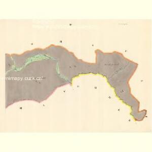 Mautzendorf (Motkow) - m1906-1-003 - Kaiserpflichtexemplar der Landkarten des stabilen Katasters