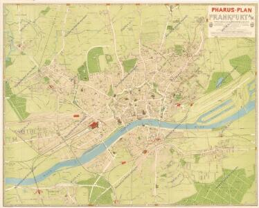 Pharus-Plan Frankfurt a/M
