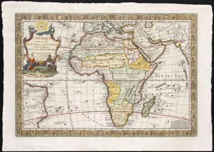 L'Afrique, dressée sur les relations e nouvelles decouvertes de differens voyageurs, conformes aux observations astronomiques