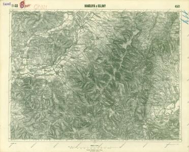 III. vojenské mapování 4561