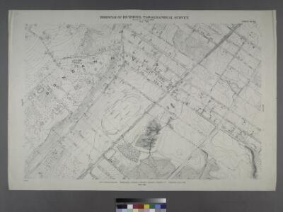 Sheet No. 48. [Includes Dongan Hills, Southside Boulevard, Four Corners road, Liberty Avenue and Cromwell Avenue.]; Borough of Richmond, Topographical Survey.