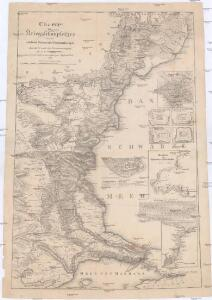 Charte des Kriegsßchauplatzes von der niedern Donau bis Constantinopel