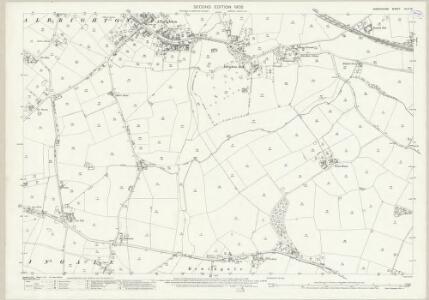 Shropshire XLIV.16 (includes: Albrighton; Boningale) - 25 Inch Map