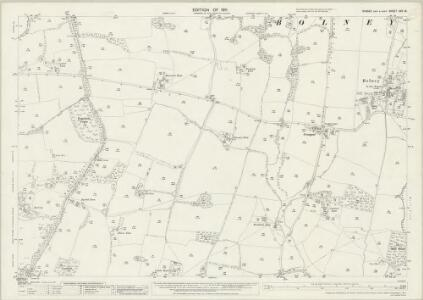Sussex XXV.15 (includes: Bolney; Cowfold) - 25 Inch Map