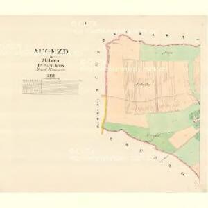 Augezd - m3221-1-001 - Kaiserpflichtexemplar der Landkarten des stabilen Katasters