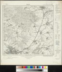 Meßtischblatt 2087 : Hameln, 1934