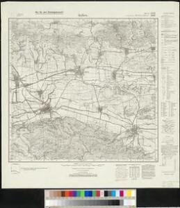 Messtischblatt 2600, neue Nr. 4532 : Kelbra, 1938 Kelbra