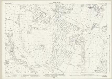 Derbyshire XVI.8 (includes: Eyam Woodlands; Eyam; Froggatt; Nether Padley; Stoke) - 25 Inch Map