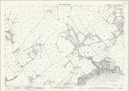 Isle of Man XIII.4 - 25 Inch Map