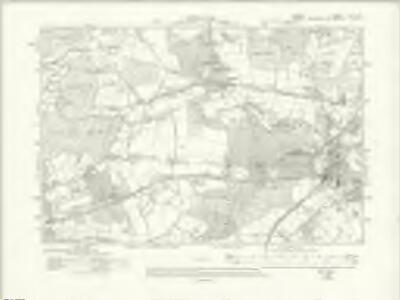 Surrey XLII.SE - OS Six-Inch Map