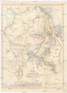 Karte von Aethiopien (H'abeš, Takah & Ost-Senar)