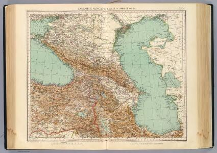 73-74. Caucasia, Mar Caspio.